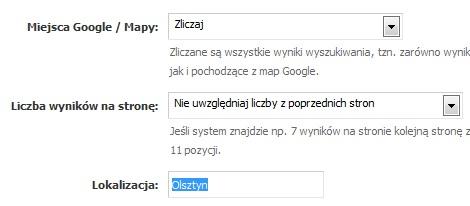Wymuszanie lokalizacji w SeoStation.pl
