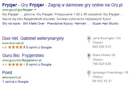 Fryzjer Jaroty