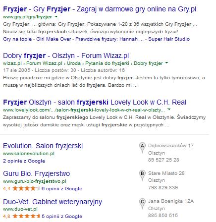 Fryzjer Olsztyn